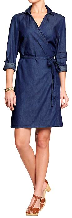 Old Navy Chambray Dress.
