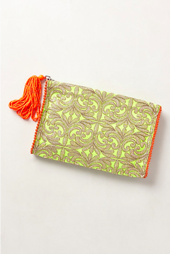 Anthropologie Solana Clutch. {now on sale for just $19.99!}