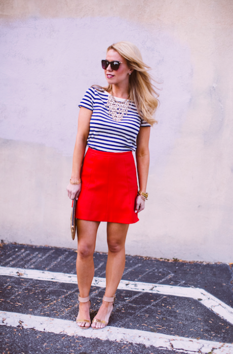 J.Crew Fluted Skirt. $39.99 with an additional 50% off.