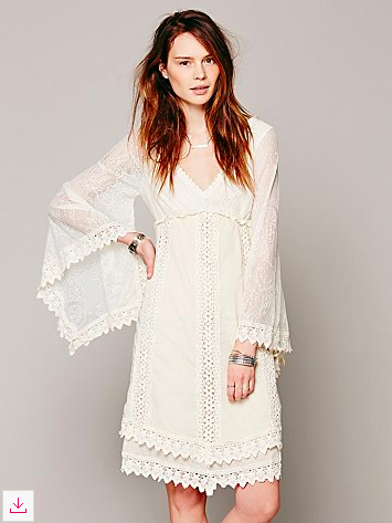 Free People Nightingale Dress, available in three colors and on sale!