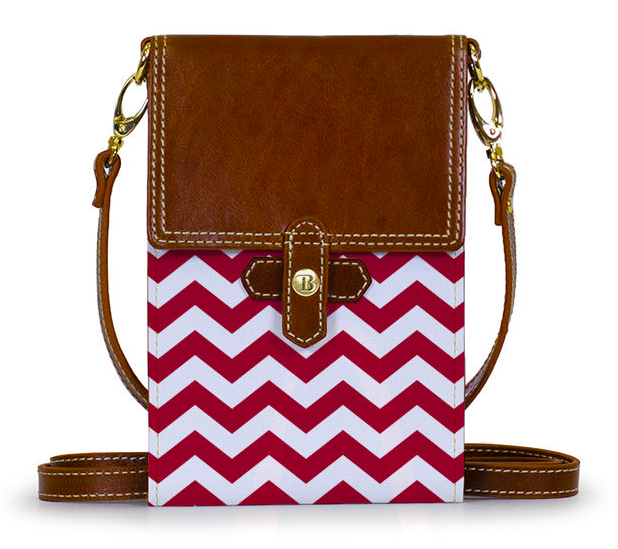 The Barrington Gifts Stadum Crossbody in Jackie's University of Alabama colors.