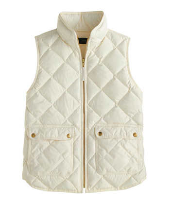 J.Crew Excursion Vest.