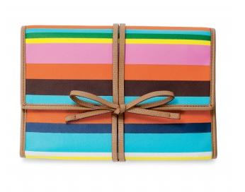 Bring It Jewelry Roll in Multistripe, $39.