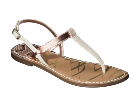 Kamila Thong Sandal in Bone, $24.99.