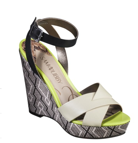 Kelly Wedge in Bone, $34.99.