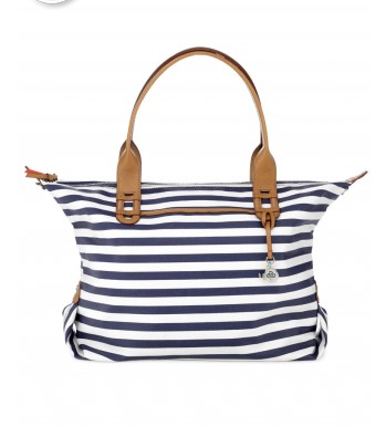 Stella & Dot Striped How Does She Do It Tote, $89. {On backorder until July. Email me to reserve one when when it comes back in stock!}