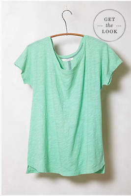 Pure & Good Breezy Ballet Tee, $38.