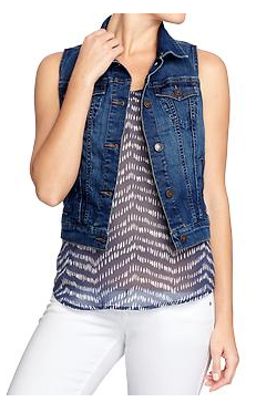 Old Navy Denim Vest.