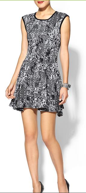 Eight Sixty Snake Print Dress.