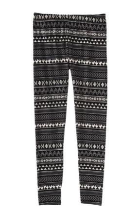 Target Tribal Print Leggings, $12.