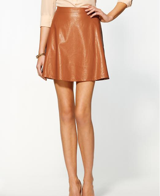 Tinley Road Vegan Leather Mini-Skirt, $79.