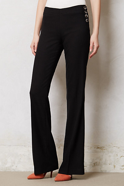 black pants - wide leg