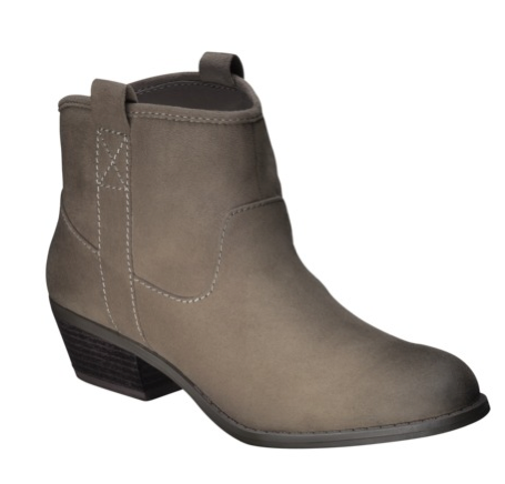 Target Mossimo Booties, $34.99.