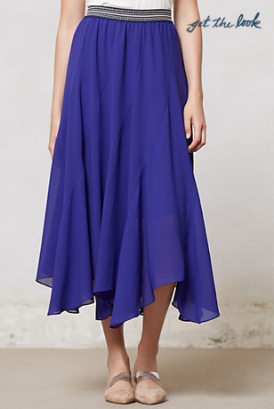 Anthropologie Colima Maxi Skirt, $118.