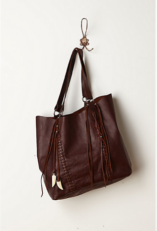 Anthropologie Antero Leather Tote, $128.