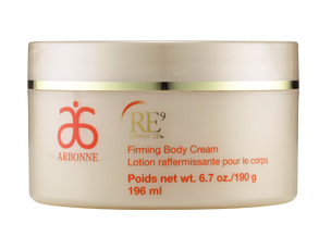 Arbonne RE9 Advanced Firming Body Cream.