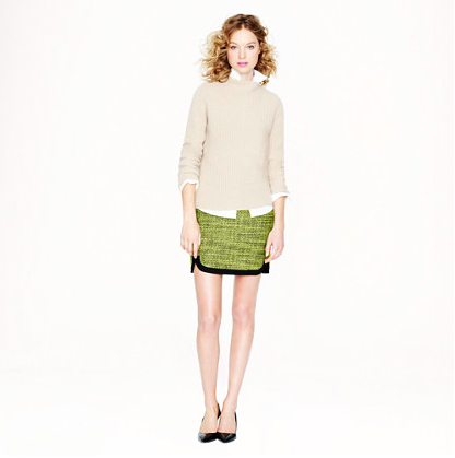 J.Crew Shirttail Mini.