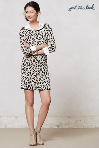 Leopardo Sweater Dress.