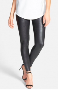 SPANX Fuax-Leather Leggings. {These are currently out of stock everywhere in certain sizes, but I have been told that they will be re-stocked this month!}