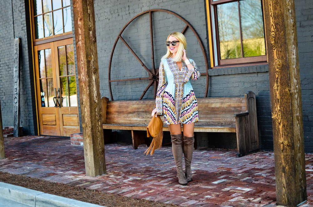 The Perfect Winter-to-Spring Dress | Edit by Lauren
