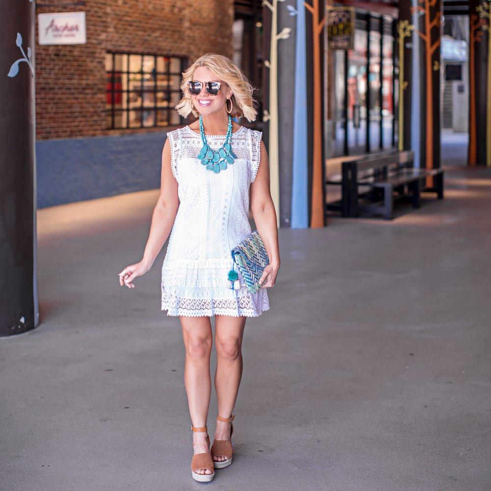 The Little White Dress | Edit by Lauren