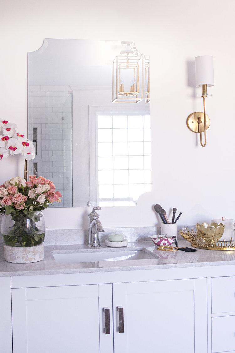 Master Bathroom Reveal — Atlanta Fashion Blogger - Edit by Lauren