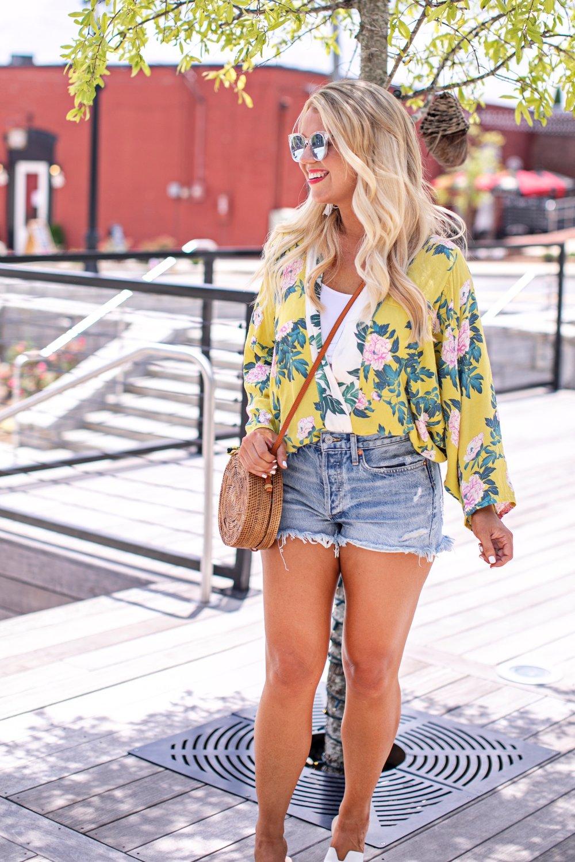 Facetune 25 07 2018 23 19 54 - My go-to Kimono, Denim Shorts and Brami