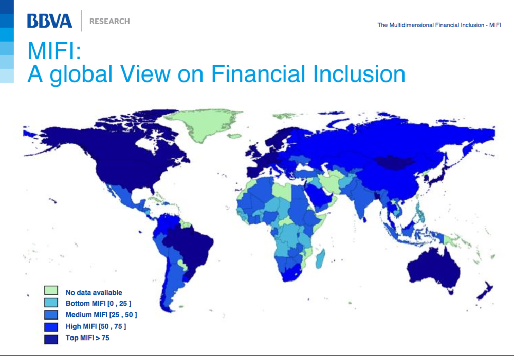 A new approach to measuring financial inclusion via BBVA Research