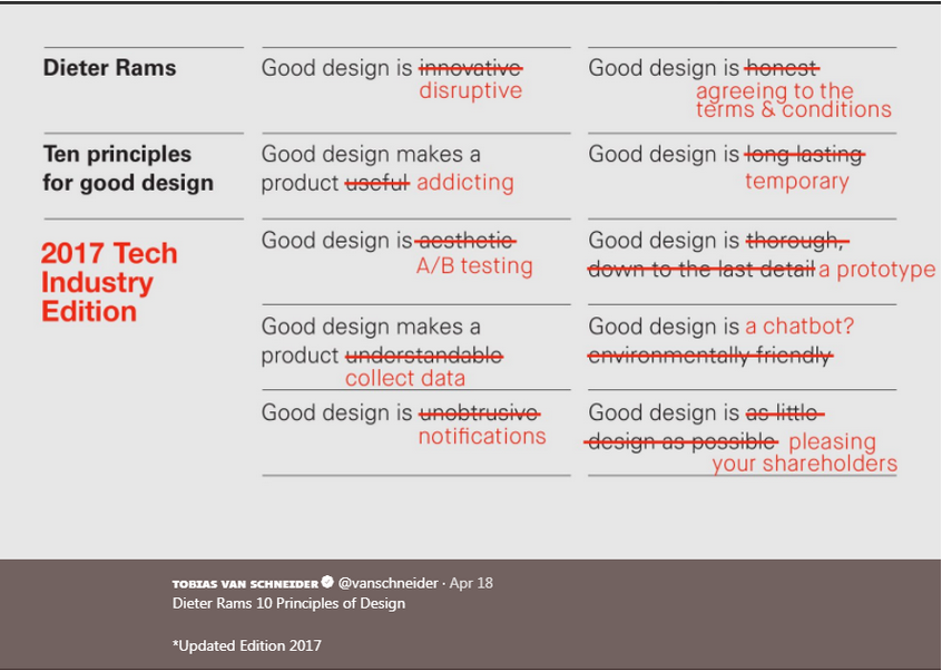 What good design really means in today's FinTech world. Via  Tobias Van Schneider .