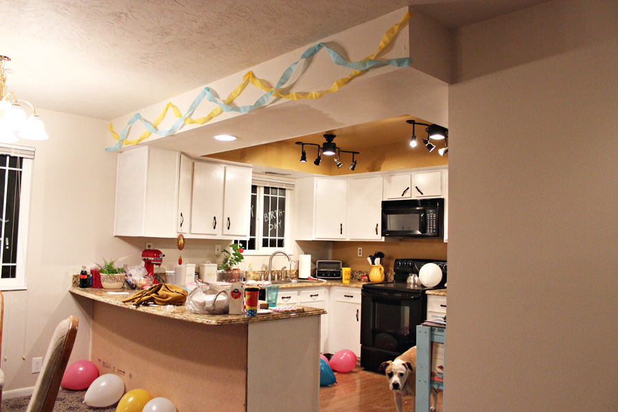 Darling Be Brave - Kitchen before the remodel