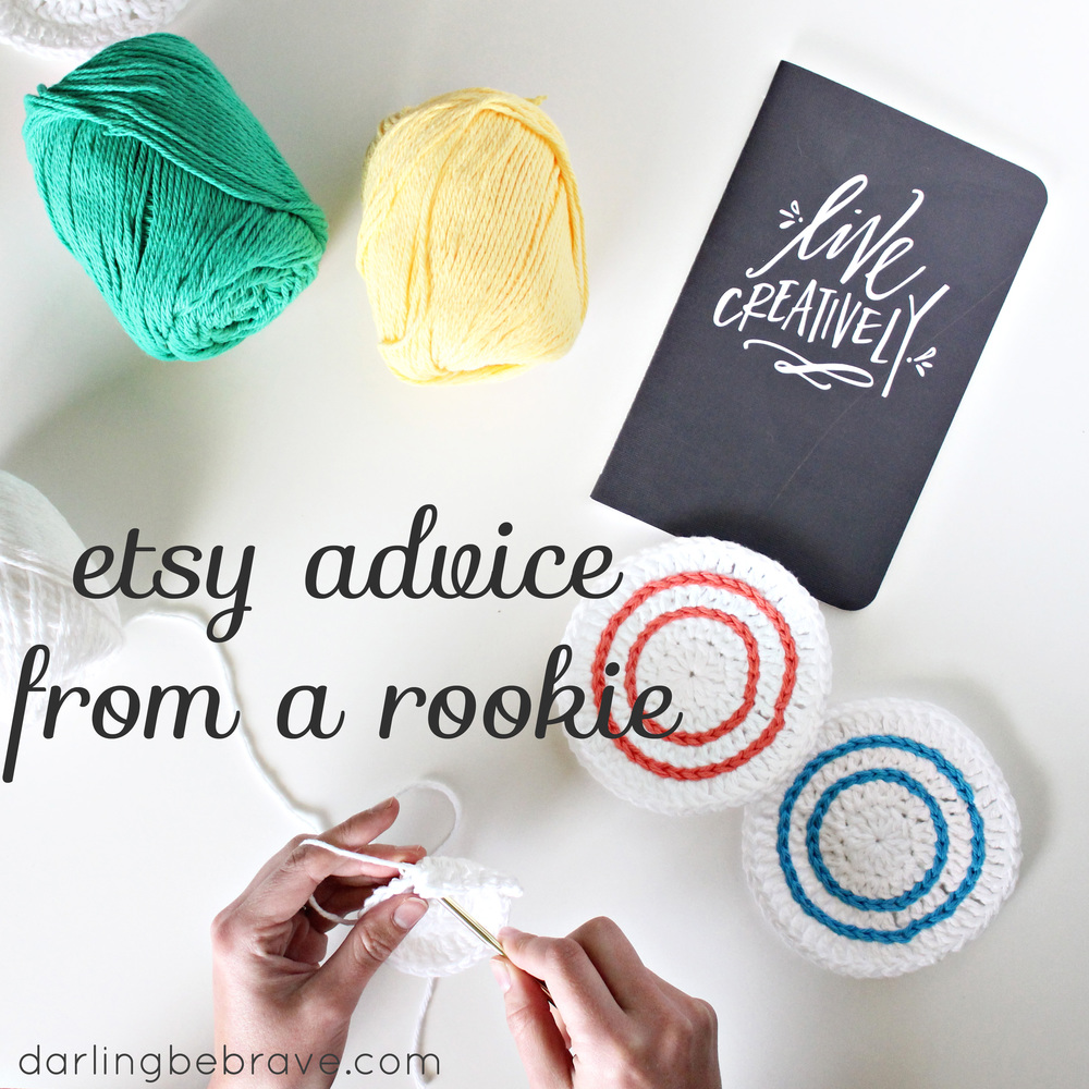 Darling Be Brave - Etsy advice from a rookie.