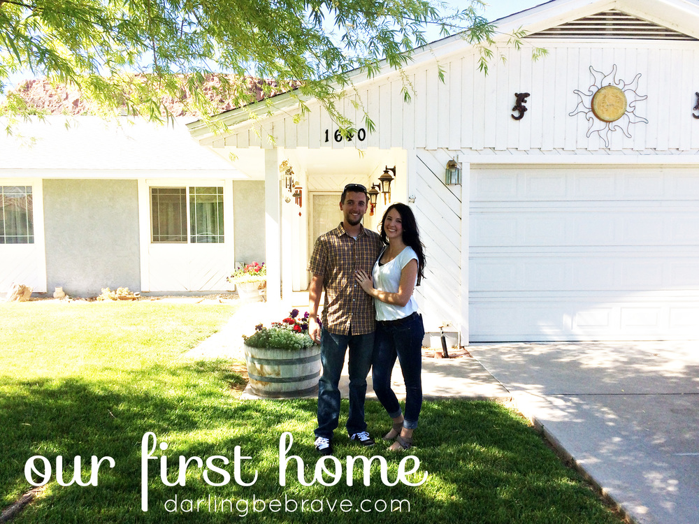 Darling Be Brave - Our First Home