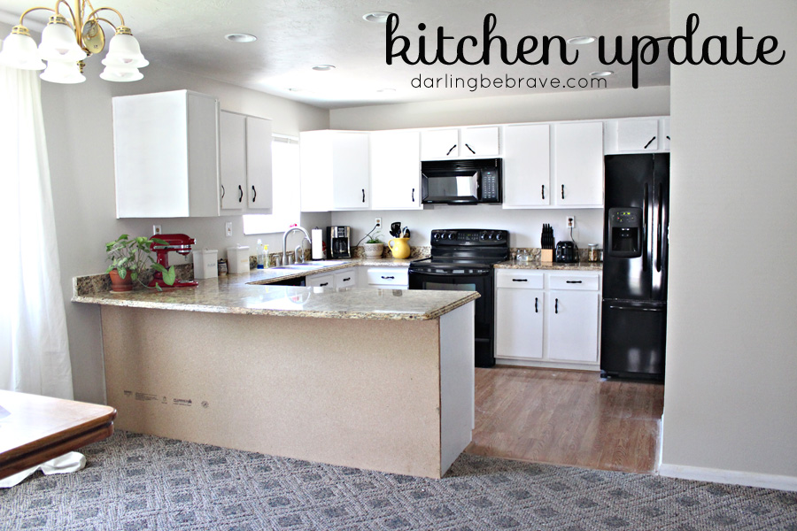 Darling Be Brave - little kitchen update