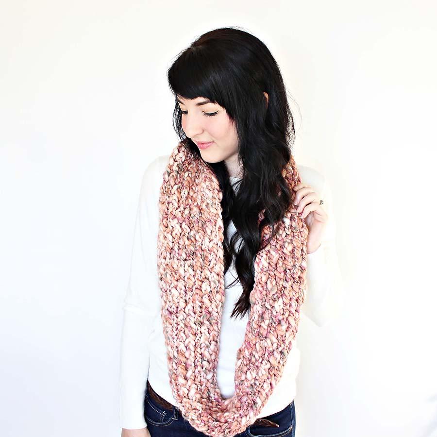 boye loom kit infinity scarf tutorial u2014 darling be brave
