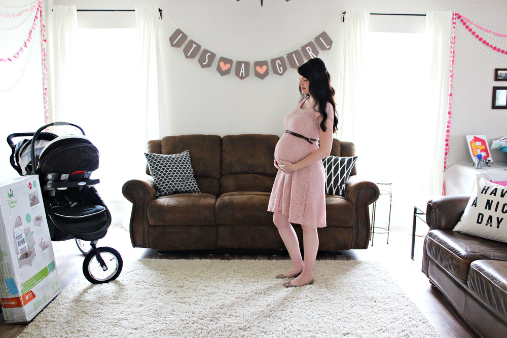 baby shower // via www.darlingbebrave.com