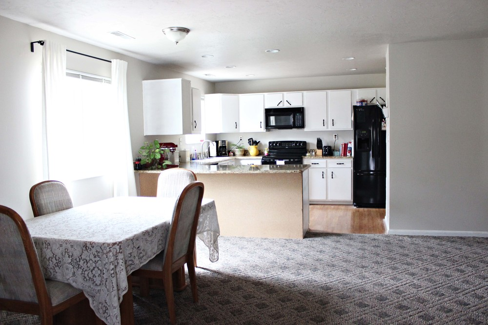 home update: little kitchen reaveal // via www.darlingbebrave.com