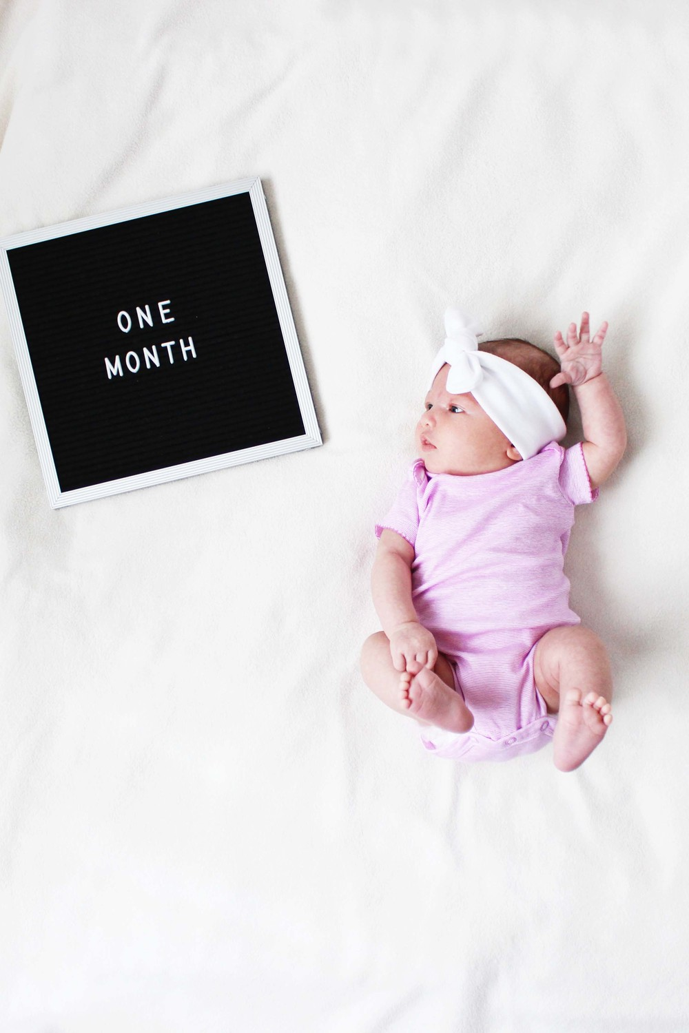 one month with miss madison // via www.darlingbebrave.com