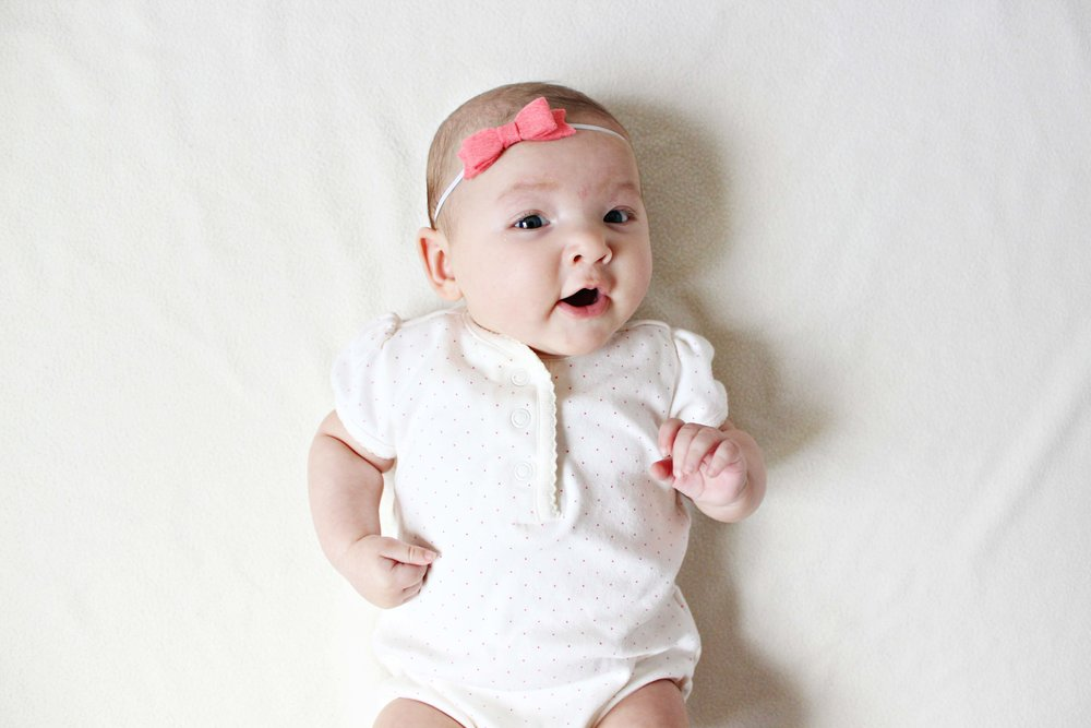 three months with miss madison // via www.darlingbebrave.com
