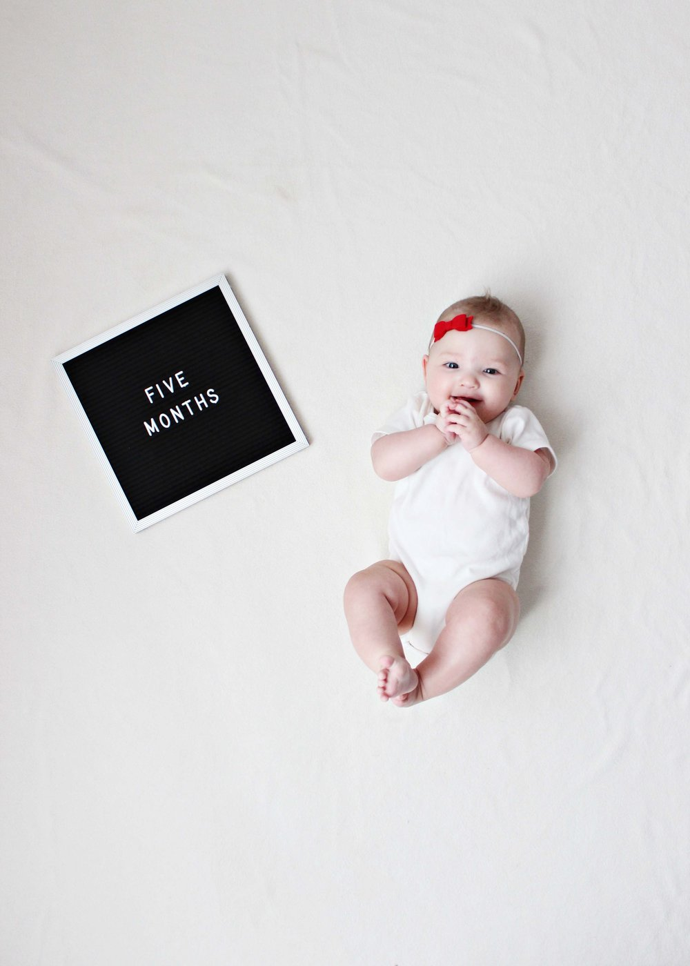five months with miss madison // via www.darlingbebrave.com