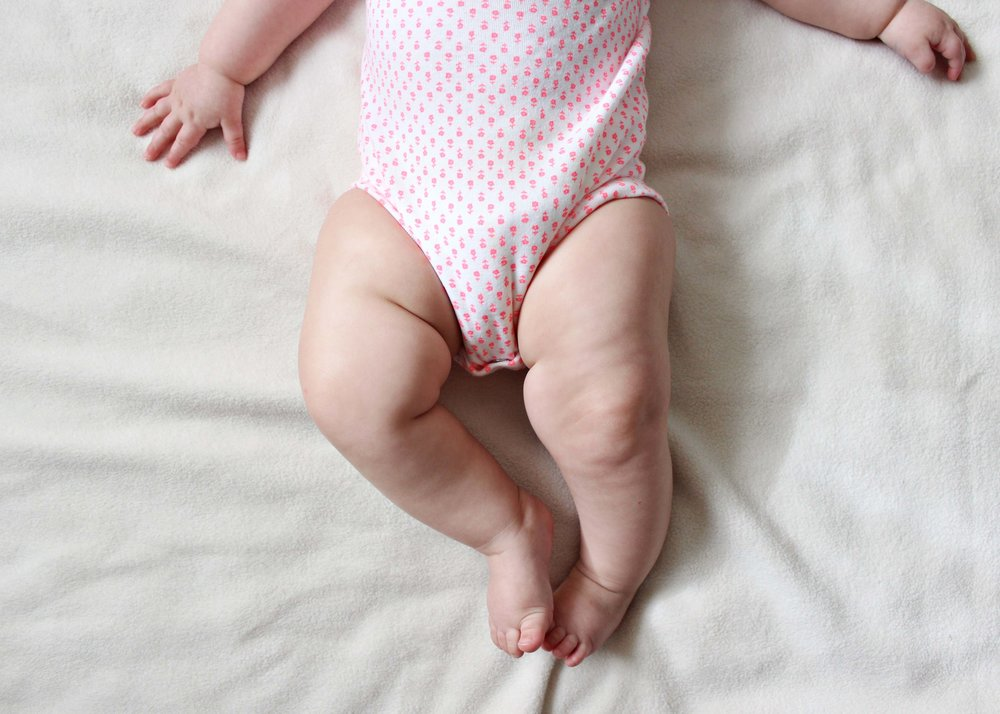 seven months with miss madison // via www.darlingbebrave.com