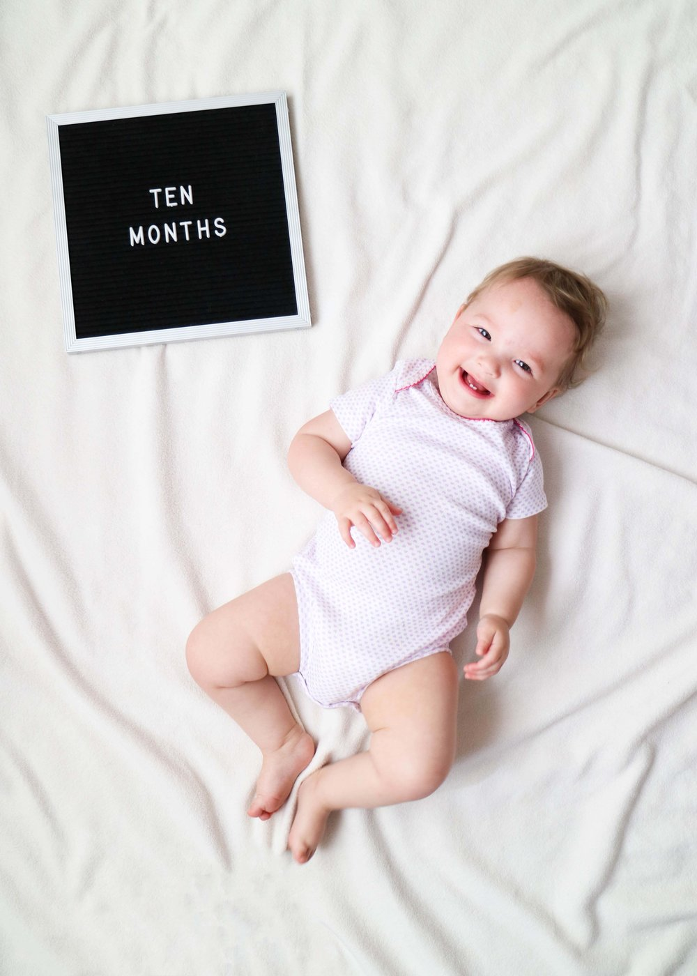 ten months with miss madison // via www.darlingbebrave.com