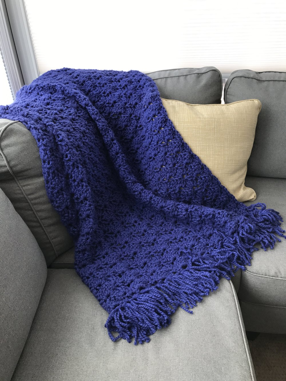 darling be brave - eleanor throw blanket pattern