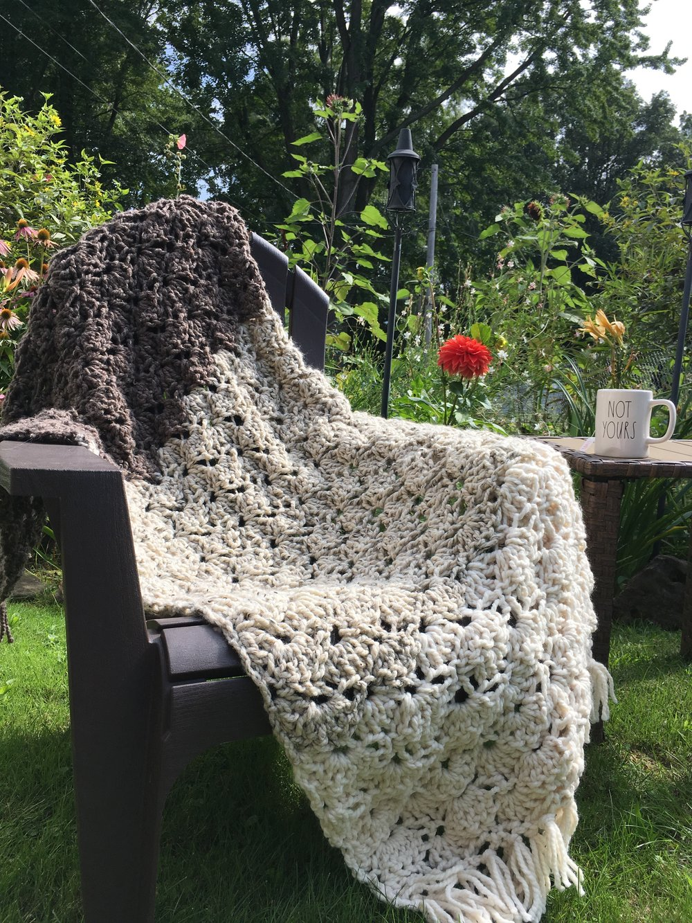eleanor throw blanket crochet pattern by darling be brave