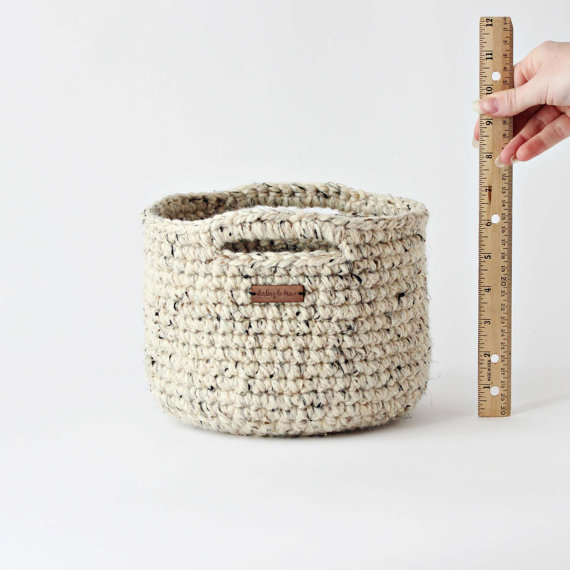 Darling Be Brave Adjustable Basket Crochet Pattern