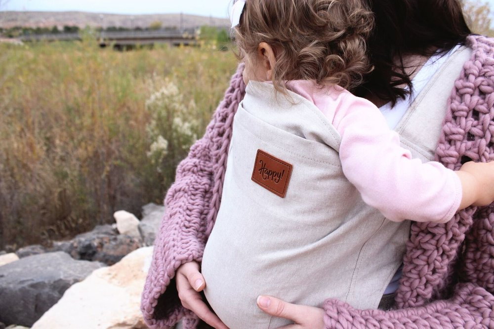 Happy Baby Carrier // Darling Be Brave
