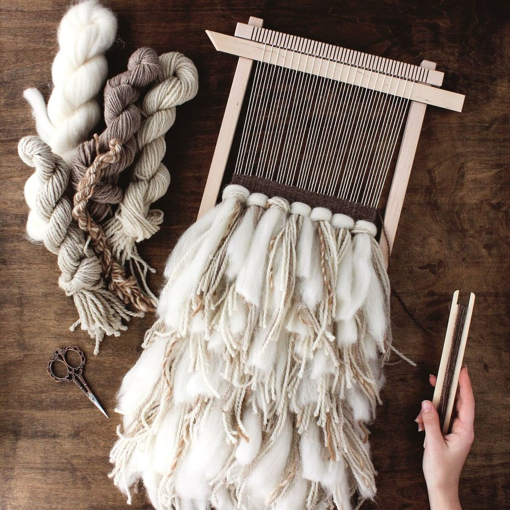 The Crafter's Box - Rya Weaving // Darling Be Brave