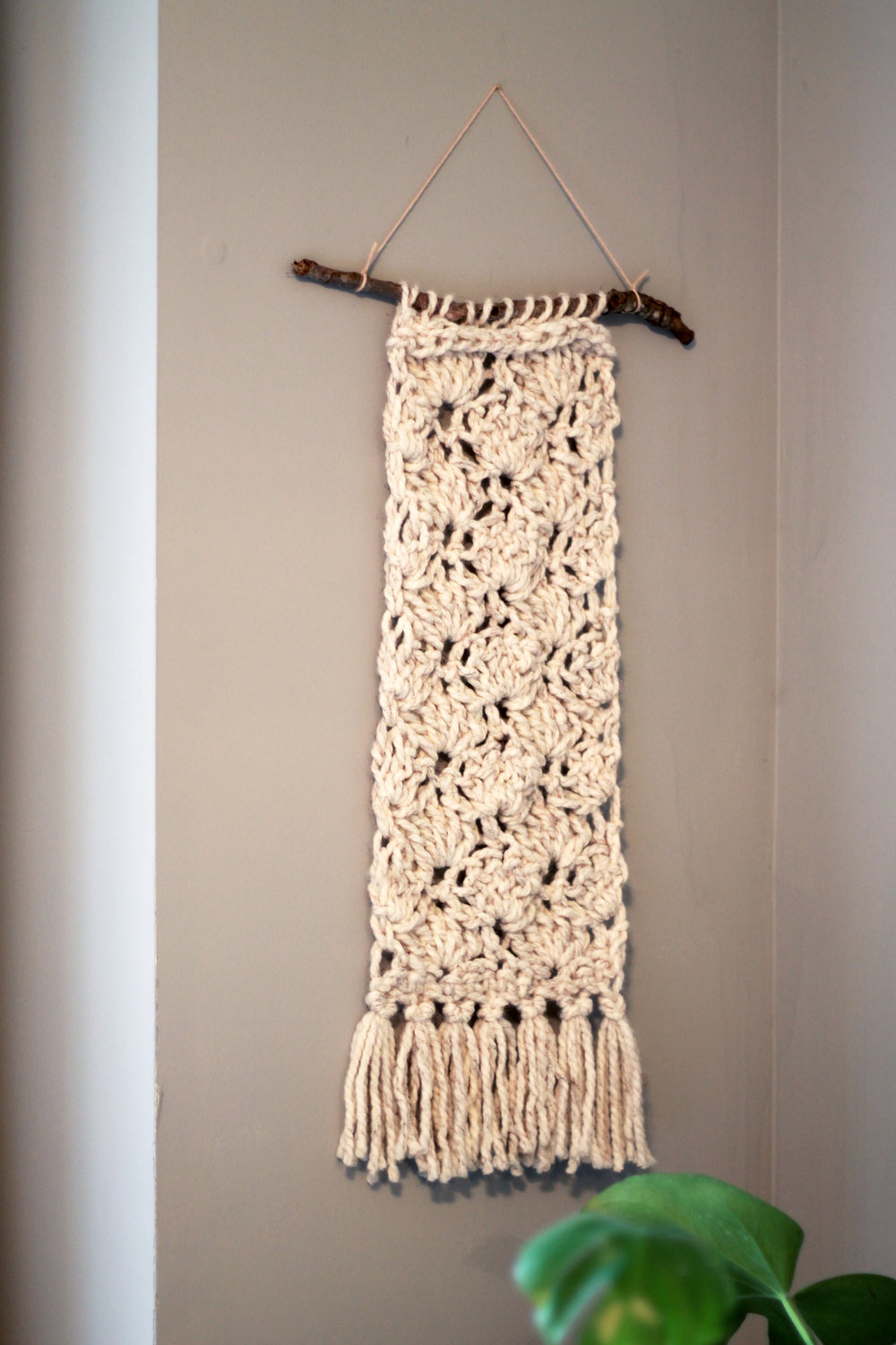 Eleanor Wall Hanging Crochet Pattern by Darling Be Brave