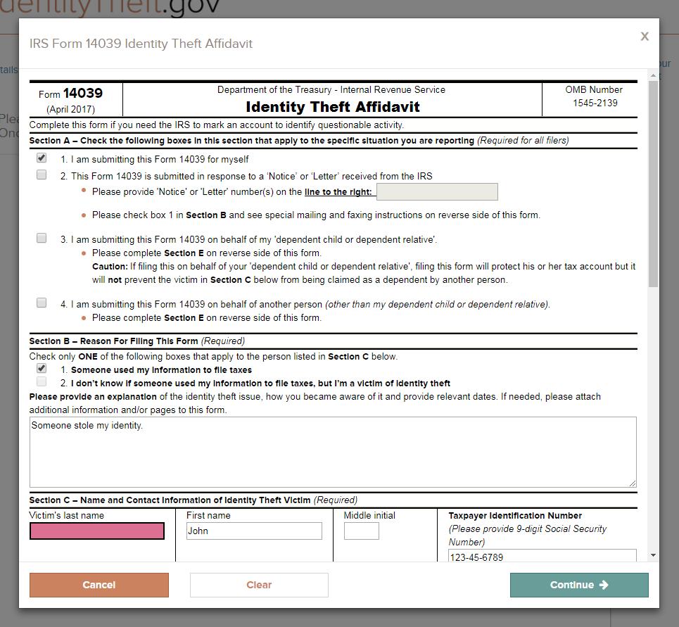 IdentityTheft.gov — Loretta Kuo