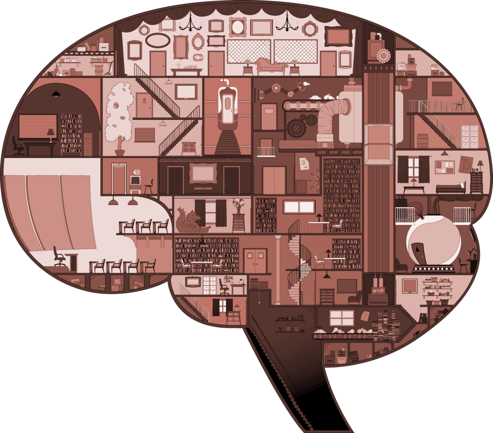 "BRAIN CROSS SECTION FOR BEAU MCCOMBS' AFI FILM ""THE COUNCIL"", ADOBE ILLUSTRATOR"