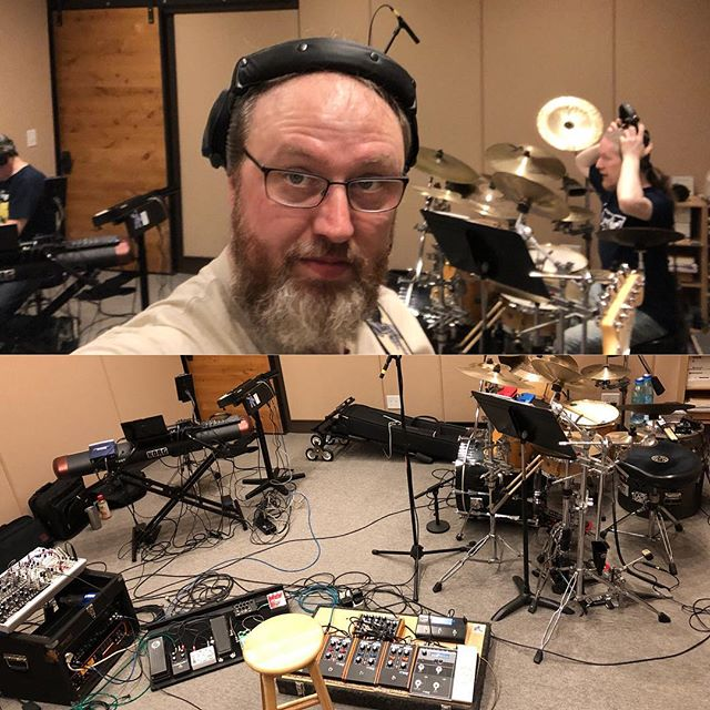 First rehearsal in Flam 5 studios